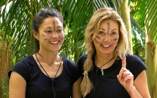 Sam Quek and Carol Vorderman excelled in the Bush Tucker Trial Credit: ITV/REX