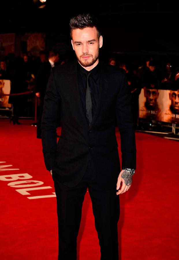 Liam Payne attending the 'I Am Bolt' World Premiere at Odeon Leicester Square, London.