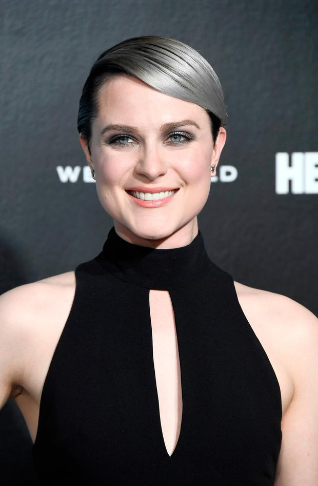 Actress Evan Rachel Wood attends the premiere of HBO's