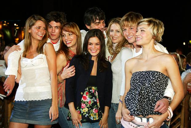 The OC cast in 2003