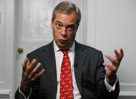Love him or loathe him, former Ukip leader Nigel Farage has a remarkable political achievement under his belt (AP Photo/Frank Augstein)