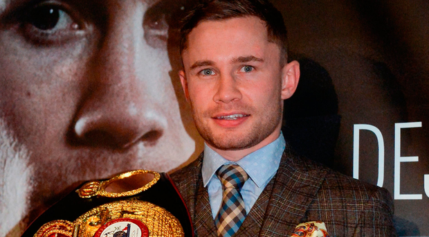 WBA featherweight champion Carl Frampton. Photo by Oliver McVeigh/Sportsfile