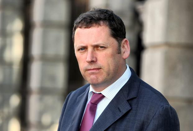Fianna Fáil's Barry Cowen. Photo: Tom Burke