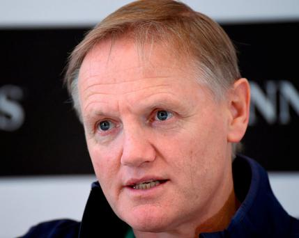 There's a sense that Joe Schmidt has learned he needs a full army not just an elite squad to go far in a tournament Photo: Matt Browne/Sportsfile