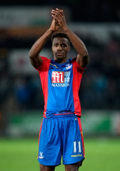 Zaha: Declaring for Ivory Coast Picture: PA