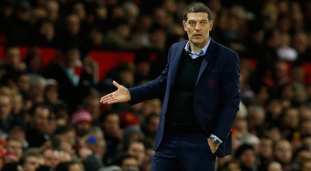 West Ham United manager Slaven Bilic Picture: Reuters