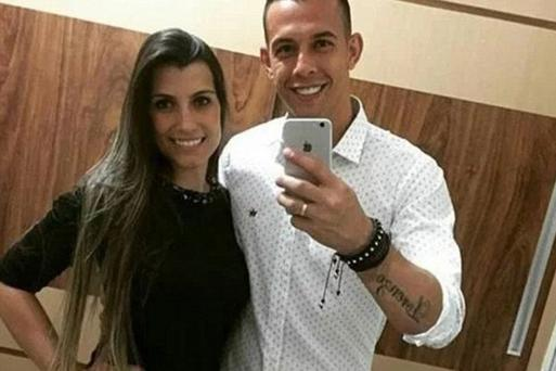 Goalkeeper Danilo Padilha had a heartbreaking final call with his wife from hospital (Photo: Instagram)