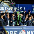 Ireland last won the Six Nations in 2015