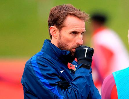 England manager Gareth Southgate. Photo: Mike Egerton/PA Wire
