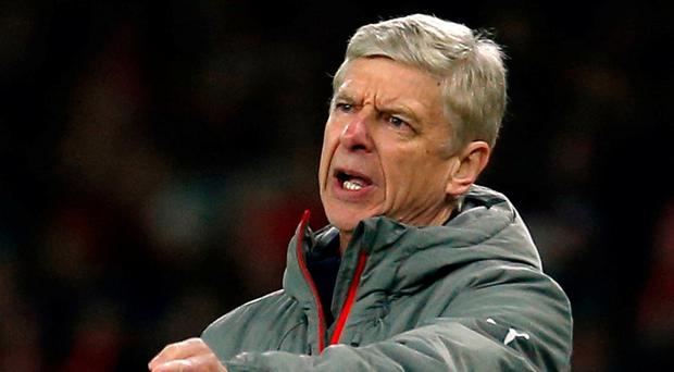 Wenger: Frustrating night. Photo: Andrew Couldridge/Action Images via Reuters