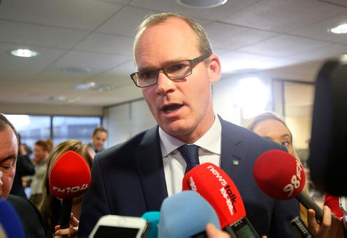 Under pressure: Housing Minister Simon Coveney. Photo:Tom Burke
