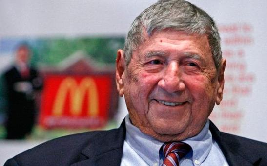 Jim Delligatti: The inventor of the Big Mac has died aged 98. Credit: AP