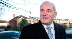 Former Taoiseach Bertie Ahern pictured speaking about his possible return to the Fianna Fail Cumman. Picture Credit: Frank Mc Grath 1/12/16