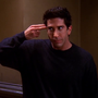 David Schwimmer as Ross Geller in Friends