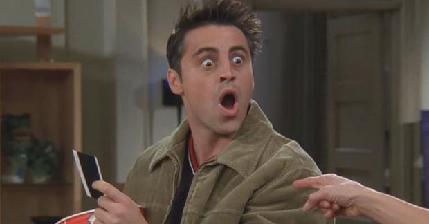 Matt LeBlanc as Joey Tribbiani in Friends
