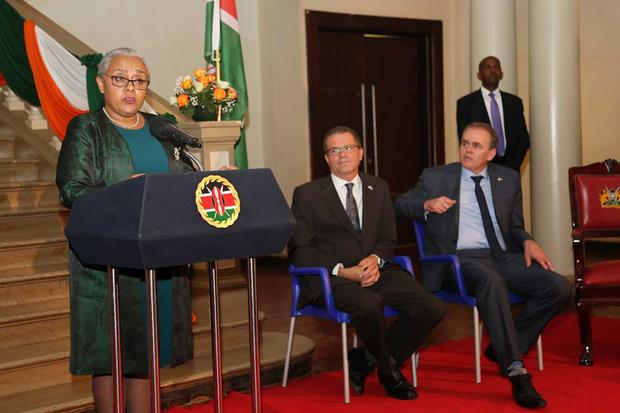 Margaret Kenyatta, First Lady of Kenya and wife of President Uhuru Kenyatta