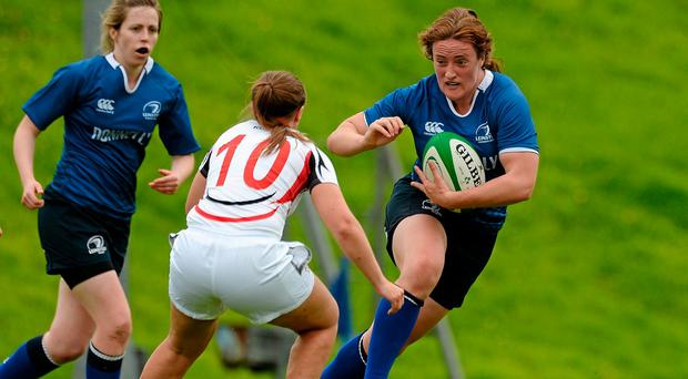 Ailis Egan in action for Leinster during last year's Women's Interprovincial. Picture credit: Oliver McVeigh / SPORTSFILE