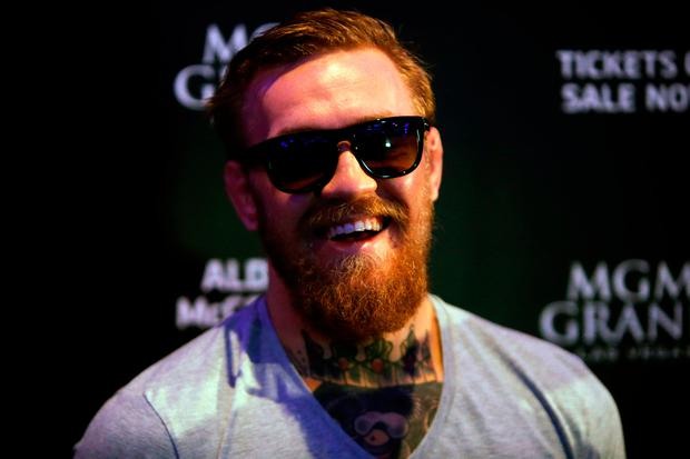 UFC superstar Conor McGregor. Photo: Brian Lawless/PA Wire