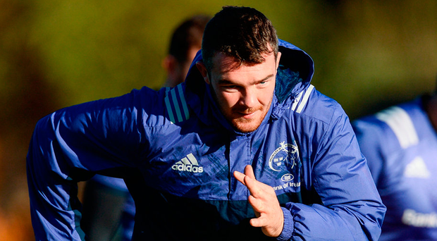 Rassie Erasmus welcomes Peter O'Mahony back into his starting XV for tonight's trip to Glasgow Photo: Diarmuid Greene/SPORTSFILE