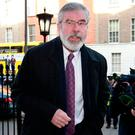 Gerry Adams. Photo: Frank McGrath