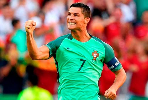 Portugal and Real Madrid star Cristiano Ronaldo. Photo: AFP/Getty Images