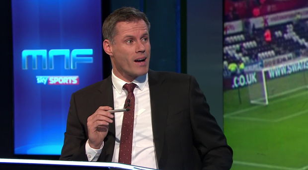 Carragher, Simpson continue Twitter feud