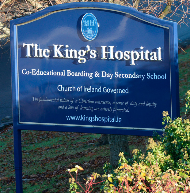 The assault happened at The King's Hospital School in west Dublin