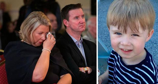 Gillian and Ronan Treacy have relived the horrific moment they lost their son Ciaran (pictured right)