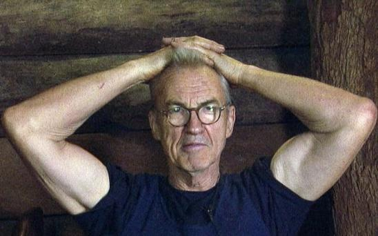 Larry Lamb on I'm A Celebrity... Get Me Out of Here! Picture: ITV