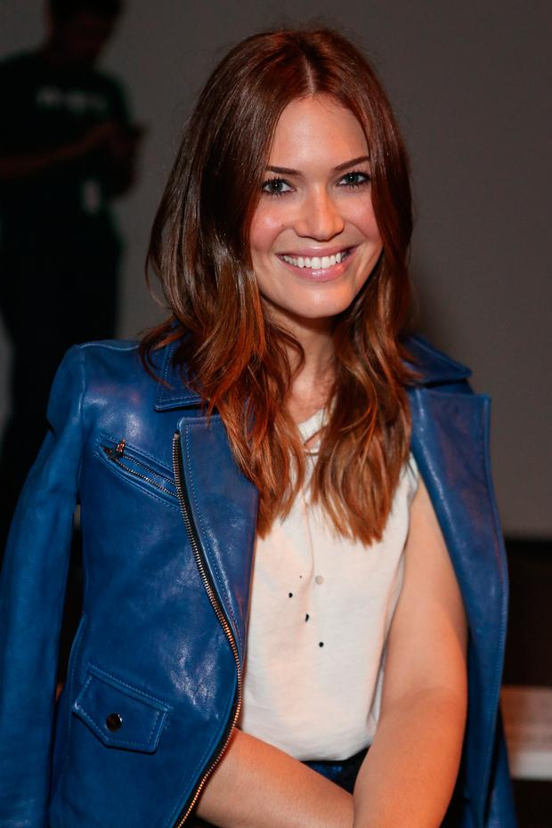 Actress / singer Mandy Moore attends Billy Reid's spring 2013 fashion show during Mercedes-Benz Fashion Week at Eyebeam on September 7, 2012 in New York City. (Photo by Chelsea Lauren/Getty Images)