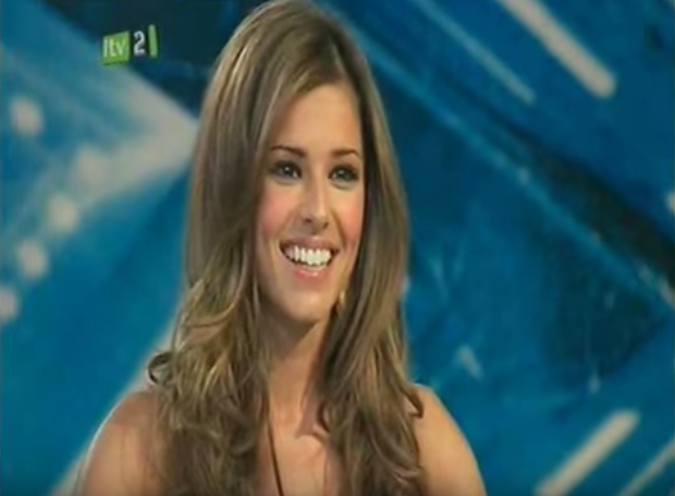 Cheryl Cole on The X Factor in 2008. Picture: ITV