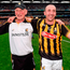 Brian Cody and Eoin Larkin celebrate Kilkenny's All-Ireland victory over Galway in 2015 Photo: Stephen McCarthy / SPORTSFILE