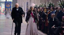 John Lithgow as Winston Churchill in The Crown