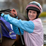 Rachael Blackmore, in the winner's enclosure after guiding Mr Goodenough to victory at Leopardstown, is hoping to make it to Cheltenham in March Photo: Cody Glenn / SPORTSFILE