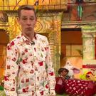 Ryan Tubridy's Christmas shirt. Pic via Twitter
