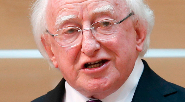 President Michael D Higgins Photo credit: Jane Barlow/PA Wire