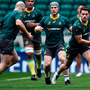 Bernard Foley in action at the Australian captain's run yesterday. Photo: Getty Images