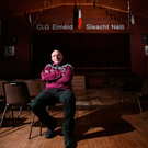 'Slaughtneil chairman Seán McGuigan, who is prone to shedding a tear when Slaughtneil win big matches (he has taken to buying Kleenex in bulk), will tell you that their success on the field is merely a by-product of community cohesion off it.' Photo: Jonathan Porte/Press Eye