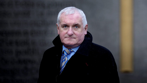 Former Taoiseach Bertie Ahern Picture By David Conachy