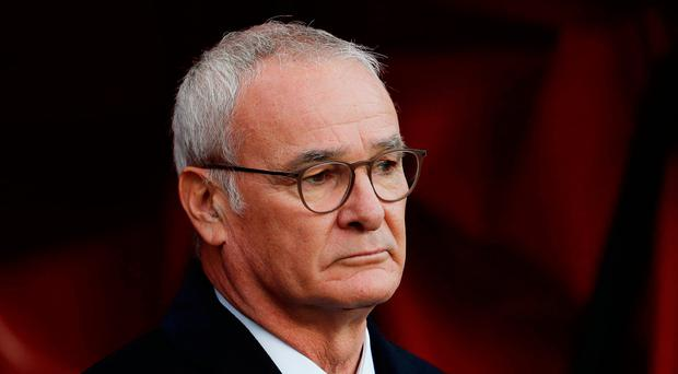 Foxes boss Claudio Ranieri. Photo: Reuters