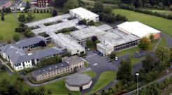 CRISIS: King's Hospital in Dublin, where an alleged assault against a 13-year-old pupil is said to have taken place in a dormitory Picture: Tom Burke