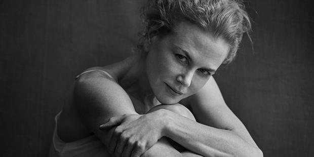 Nicole Kidman as she appears in the Pirelli 2017 calendar