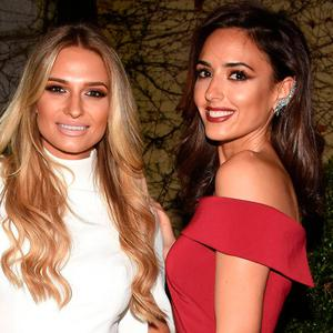 Sara Kavanagh and Nadia Forde at The People of the Year Awards 2016 at Citywest Hotel. Picture: Cathal Burke / VIPIRELAND.COM