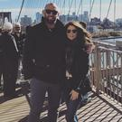 John Muldoon and Lorna Byrne in New York. Picture: Instagram