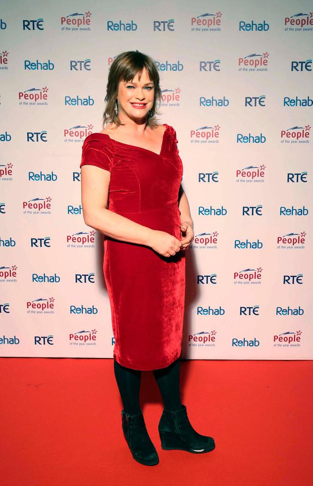 Teresa Mannion at the 2016 Rehab People of the Year Awards at Citywest Hotel. Picture: Robbie Reynolds