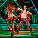 Oti Mabuse and Danny Mac during the dress rehearsal for Strictly Come Dancing on BBC1. Picture: Kieron McCarron/BBC/PA Wire