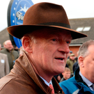 Mullins: Apple's Jade's former trainer who enjoyed a double. Photo: Cody Glenn/Sportsfile