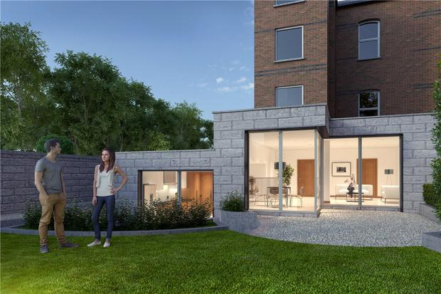 An artist's impression of a proposed extension to the luxury home in Palmerston Road, Rathmines