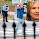 Edgar Maddison Welch who said he was investigating a conspiracy theory about Hillary Clinton running a child sex ring out of a pizza place, fired an assault rifle inside the restaurant on Sunday injuring no one, police and news reports said. (Sathi Soma via AP)