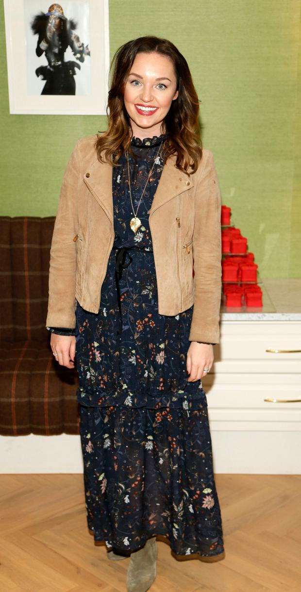 Ellen Kavanagh Jones at the official launch of Christmas at Kildare Village. Picture: Kieran Harnett